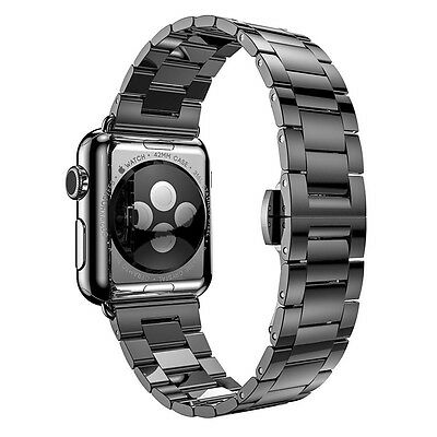 HOCO Stainless Steel Wrist strap for Apple Watch 38mm Black