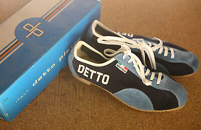 Vintage 1970's NOS NEW Detto Pietro DP suede cycling touring shoes sneakers