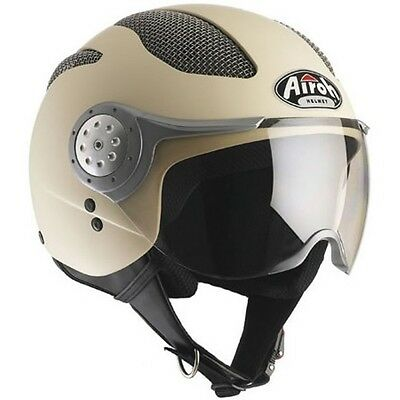 Casco Moto Scooter Jet Airoh Air Naked Casque Vintage Airoh