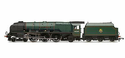 Hornby BR 4-6-2 'City Of Liverpool'  Coronation Class R3195 - Free Shipping