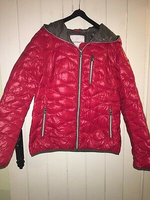 Red Size 12 Real Down, Ski Jacket