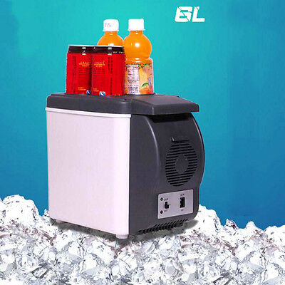 6L Mini Portable Car Fridge Cooler Warmer Heater Freezer Caravan Refrigerators