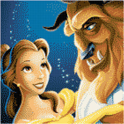 Beauty And The Beast 2 - 14 Count Cross Stitch Kit