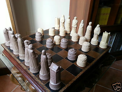 Scacchi Tema Scotland v's England themed chess set First War of Independence