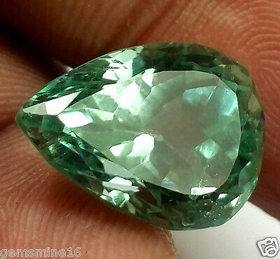 9.20 CT Green Kunzite 100% Natural GIE Certified Top Quality Excellent Gemstone