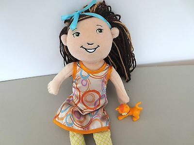 Groovy Girls Doll 2009 CADENCE  Clothes  Green Eyes   R8