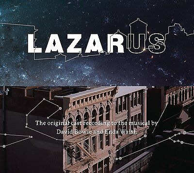 LAZARUS - ORIGINAL CAST RECORDING - DAVID BOWIE - 3LP + booklet NUOVO SIGILLATO
