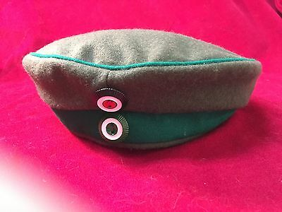 WWI Imperial German Army Feldmutz Mountain rifles green Large