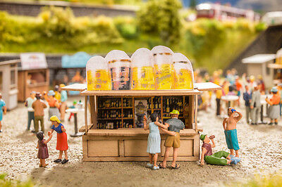 Noch Ready Made Scene - At The Kiosk 12025 - HO Scale (suit OO also)