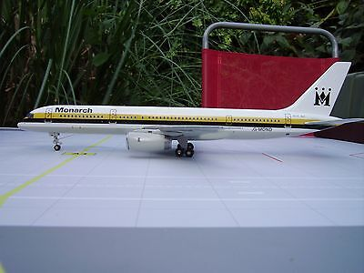 Russell Models 1/200 Scale Boeing 757-200 Monarch Airlines G-Mond
