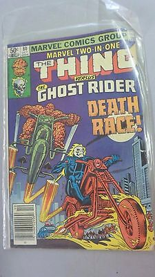 The Thing versus the ghost rider OCT 1981