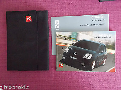 Citroen C2 (2005 - 2008) Owners Manual - Owners Guide - Handbook Pack.(Yjl 1125)