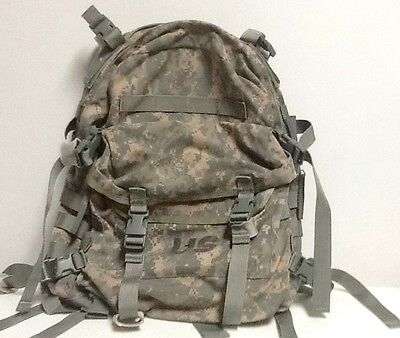 Us Army Issue 3 Day Assault Pack Molle Ii Complete With Back Board