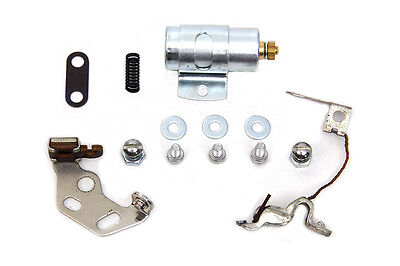 Ignition Points and Condensor Kit,for Harley Davidson motorcycles, by V-Twin