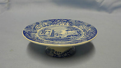 Collectable Copeland Spode Blue Italian Miniature Comport