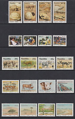 Namibia - 9 sets - u/m - 1992/5