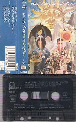 TEARS FOR FEARS The seeds of love DIFFICULT SPANISH CASSETTE SPAIN