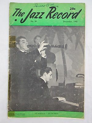 2 Vintage 1945 THE JAZZ RECORD Magazine, November/December