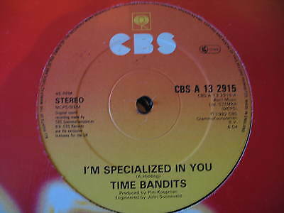 "Time Bandits-I'm Specialized In You. Original 1982 Disco/soul/funk 12"" Single"