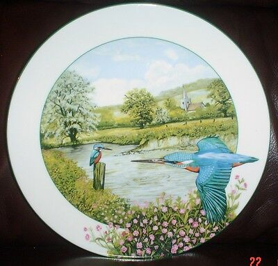 Royal Doulton THE RIVERSIDE KINGFISHER Collectors Plate