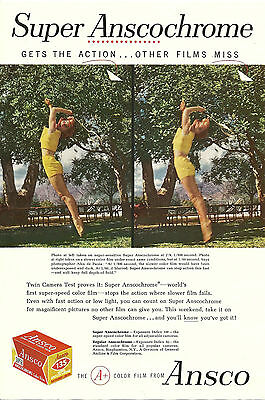 Print Ad Goodyear Tires Ansco Film Old Ads Vintage