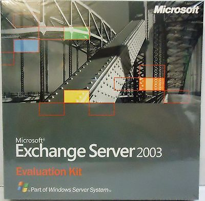 Microsoft Exchange Server 2003 [EVALUATION KIT]