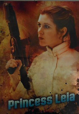 Star Wars Princess Leia Poster (New) **r.i.p. Carrie Fisher**
