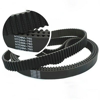 HTD8M 696//712//720//736//744 Synchronous Wheel Close Loop Timing Pulley Belt
