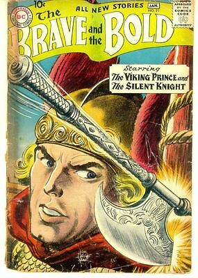 BRAVE and the BOLD #21 (DC Comics, 1958) ~ Shining Knight