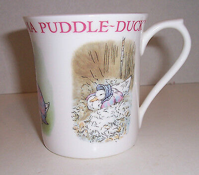 Queen's Frederick Warne 2003 JEMIMA PUDDLE-DUCK Cup Peter Rabbit 100 Years