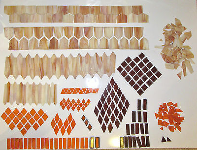 Over 10 lbs. of Stained Glass for Lamp Shade Starter Kit or Replacement Pieces