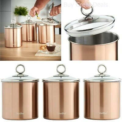 Stainless steel kitchen canister sets kitchen setfresh for Kitchen set stainless steel