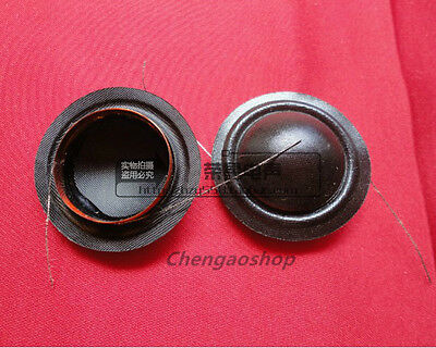 "2 piece NEW 19.43mm (0.764"") silk diaphragm Tweeters voice coil #Q1582 ZX"