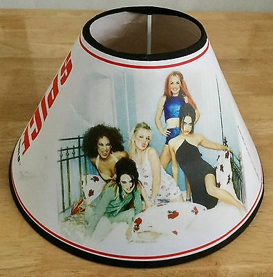 Spice Girls lampshade Official merchandising rare bargain vintage 1997
