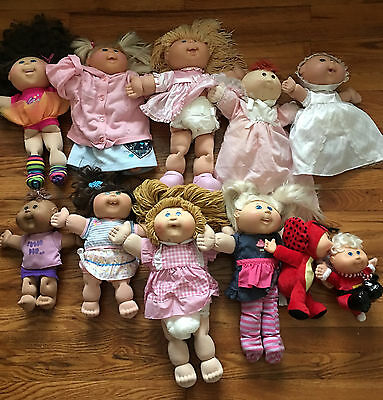 Cabbage Patch Doll Lot