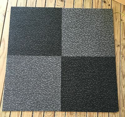 Commercial Carpet Tiles 103 pieces 2 colours 500 x 500  Professionally Cleaned