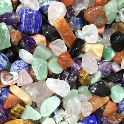 50g Natural Colorful Quartz Crystal Mini Stone Rock Chips Healing Specimens Lot