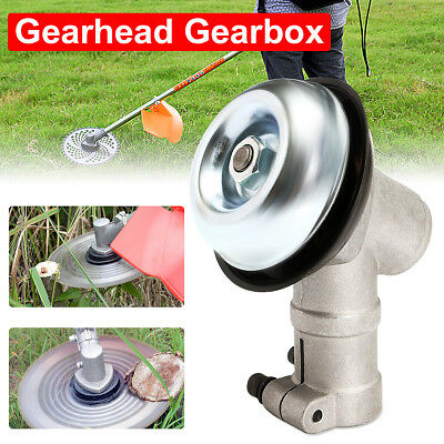 26mm Gearhead Gearbox Fit For Strimmer Trimmer Brush Cutter Lawnmower 9 Spline