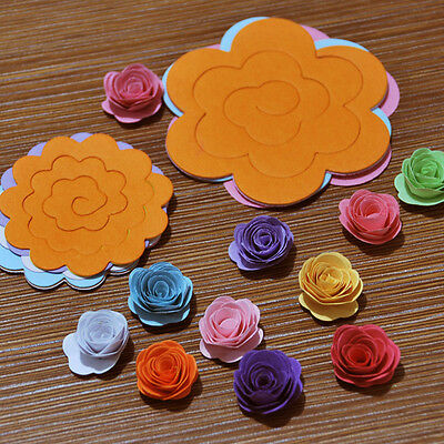 20 pcs/set  Quilling Paper Mixed color Origami DIY Flower  Paper Craft