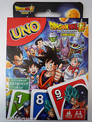 UNO Playing Cards Game Japanese Anime DragonBall Super from Japan Ensky