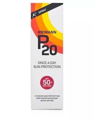 Riemann P20 Once A Day SPF50 Sun Protection Spray (100ml) | Sunscreen | FREE P&P