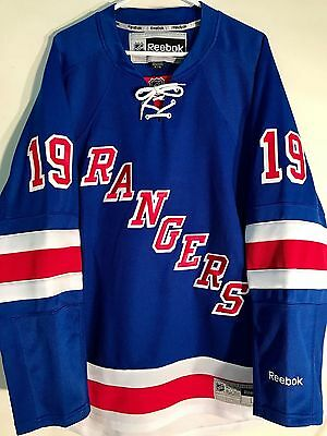 NHL New York Rangers Brad Richards Premier Ice Hockey Shirt Jersey