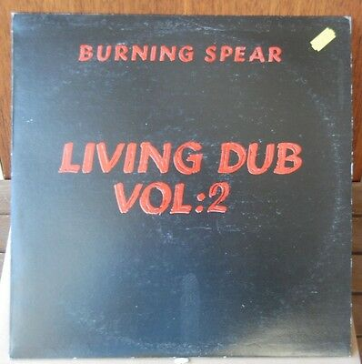 Burning Spear - Living Dub Volume 2. VINYL, LP.