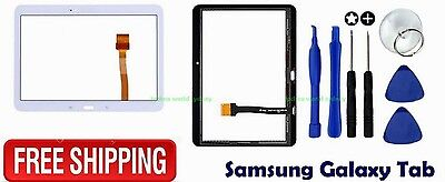 Digitizer Touch Screen Glass Lens Replacement For Samsung Galaxy Tab 4 10.1""