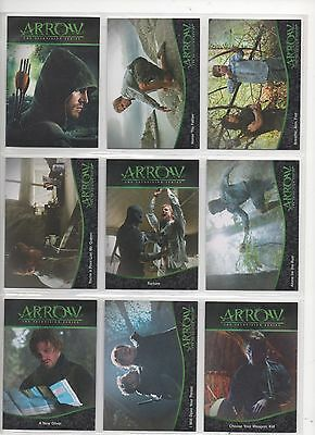 Arrow Season 1 Binder With Mini-Master Set And 6 Autos