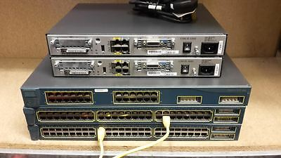 Cisco Ccna Ccnp Ccie Lab Two 1841 Three Ws-C3550 Router Switch Ideal Lab