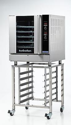 Moffat G32D5/SK32 Gas Convection Oven Full Size 5 Pan Digital w/ Mobile Stand