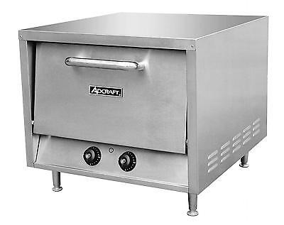 Adcraft PO-22 Stackable Countertop Pizza Oven W/ 2 -22in Stone Decks