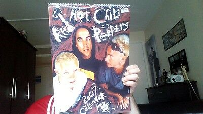 Still Sealed  - Red Hot Chili Peppers  2007 Calendar.