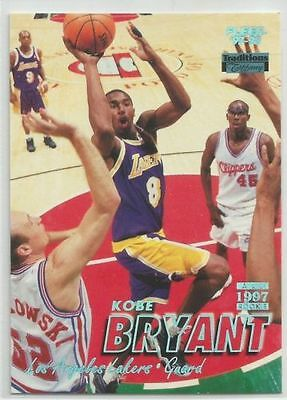 Kobe Bryant 97/98 Fleer Traditions Tiffany Collection Rare Parallel